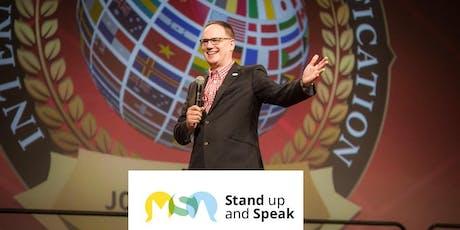 Stand up and Speak Speak - 1 Day course - Warrington tickets
