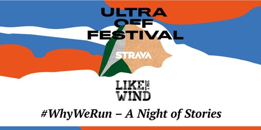 Like the Wind & Strava: #WhyWeRun Night of Stories