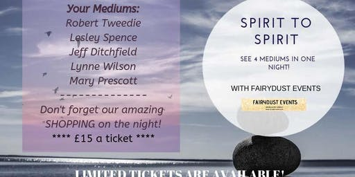 Spirit To Spirit 17 October @ Ancient Oak