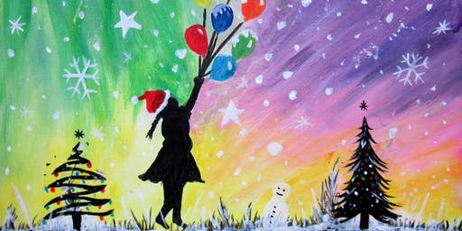Paint Christmas Street Art!