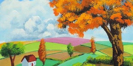 Paint Autumn + Wine! tickets