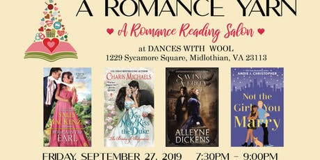 A Romance Yarn Reading Salon tickets