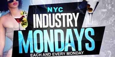 "NYC ""INDUSTRY MONDAYS"" EVERYONE FREE ON RSVP REGGAE + SOCA + AFROBEATS +HIP HOP @ ""HAYATY LOUNGE """