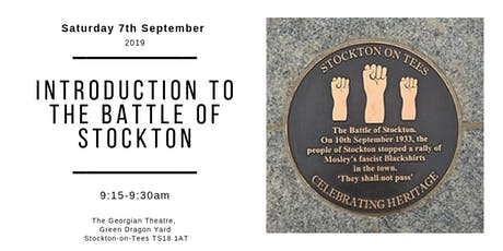 Introduction to the Battle of Stockton tickets