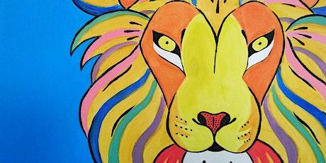 Online Party - Paint Pop Art! tickets