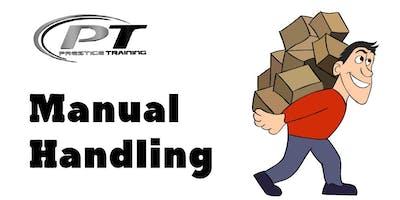 Manual Handling Training, Oranmore - 7th Dec - Prestige Training Galway