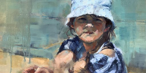 Portraits of Children - Oil Painting