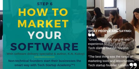 Marketing for Tech Startups: How to Market your Software Strategically tickets