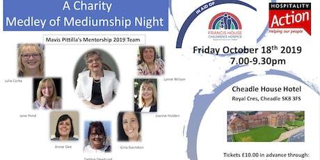 Mavis Pittilla's Medley of Mediumship Charity Event tickets