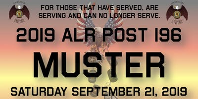 Post 196 ALR MUSTER