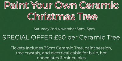 Paint Your Own Ceramic Christmas Tree