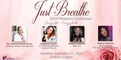Just Breathe Women's Conference 2019