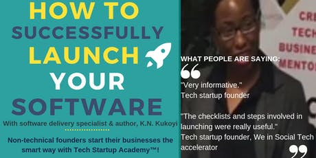 How to launch your software successfully: A practical guide for tech startups tickets