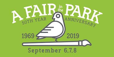 A Fair in the Park tickets
