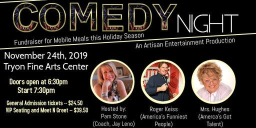 COMEDY NIGHT: A Fundraiser for Mobile Meals hosted by Pam Stone