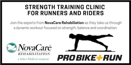 Strength Training for Runners and Riders tickets