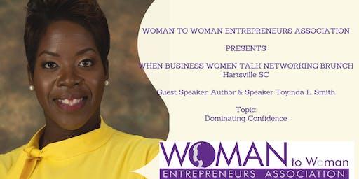 When Business Women Talk Networking Brunch Tour Hartsville South Carolina