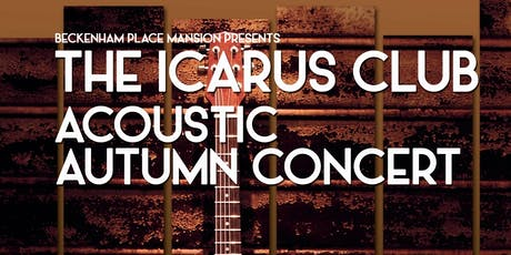 The Icarus Club Acoustic Autumn Concert tickets