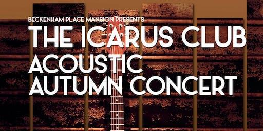 The Icarus Club Acoustic Autumn Concert
