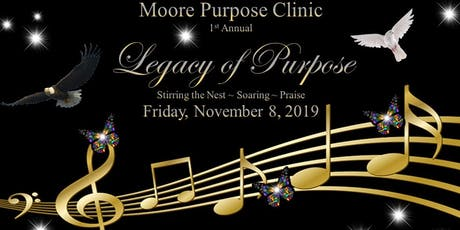 Legacy of Purpose 2019 Benefit Dinner tickets