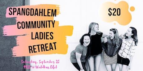Spangdahlem Community Ladies Retreat tickets