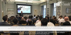 Exponential Events Investment Pitch & Networking...