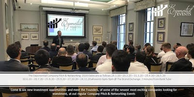 Exponential Events Investment Pitch & Networking February Event