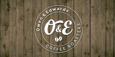 Inside Owen & Edwards Roastery – Ymweld â thŷ crasu Owen & Edwards
