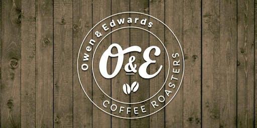 Inside Owen & Edwards Roastery - Ymweld â thŷ crasu Owen & Edwards