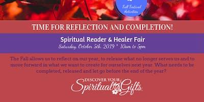 Spiritual Reader & Healer: Time for Reflection