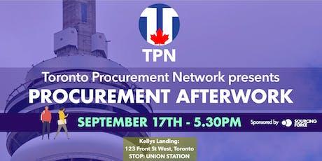 Toronto Procurement Network tickets