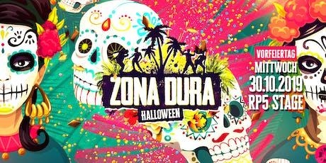 ZONA DURA - Dia de los muertos (Halloween) // Vorfeiertag MI 30.10.19 // RP5 Stage Tickets