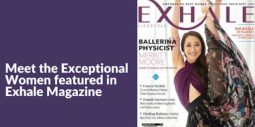 Meet The Exceptional Women featured in Exhale Magazine