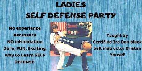 Ladies Self Defense Party tickets