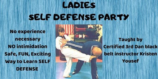 Ladies Self Defense Party