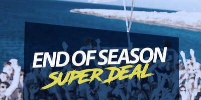 End Of Season Super Package Deal (August/ September)