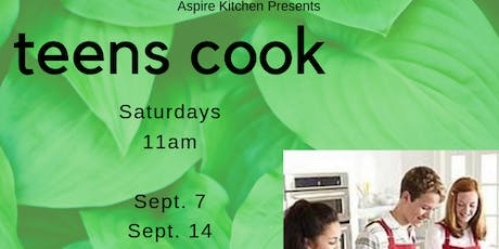 Teens Cook! Cooking Series tickets
