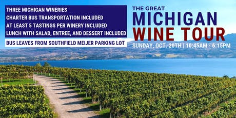 The Great Michigan Wine Tour tickets