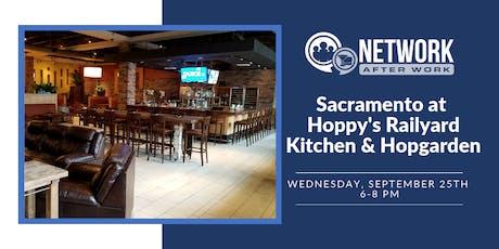 Network After Work Sacramento at Hoppy's Railyard Kitchen & Hopgarden tickets