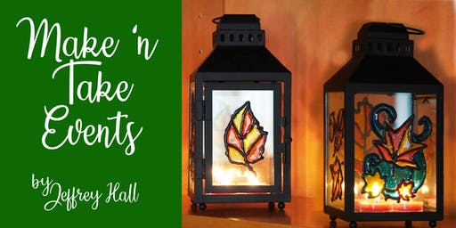 Make N Take Event - Stained Glass Lantern - Radical Wine Company