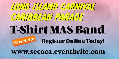 SCCACA T-Shirt MAS Band Registration 2019 tickets