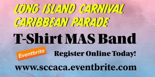 SCCACA T-Shirt MAS Band Registration 2019