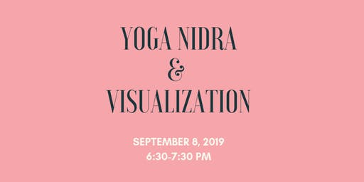 Yoga Nidra & Visualization