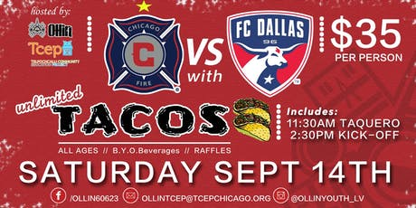 Taquero at Chicago Fire Soccer Fundraiser! tickets