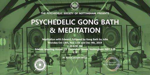 Psychedelic Gong Bath & Meditation