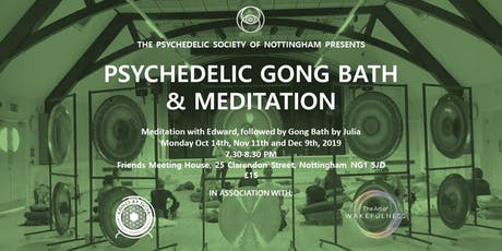 Psychedelic Gong Bath & Meditation tickets