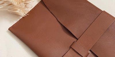 Leather Clutch Purse Workshop
