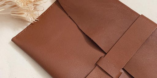 Leather Clutch Purse Workshop