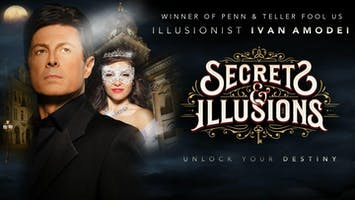 "Ivan Amodei: ""Secrets & Illusions"""