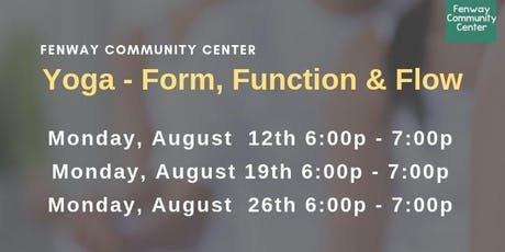 Yoga - Form, Function & Flow  tickets